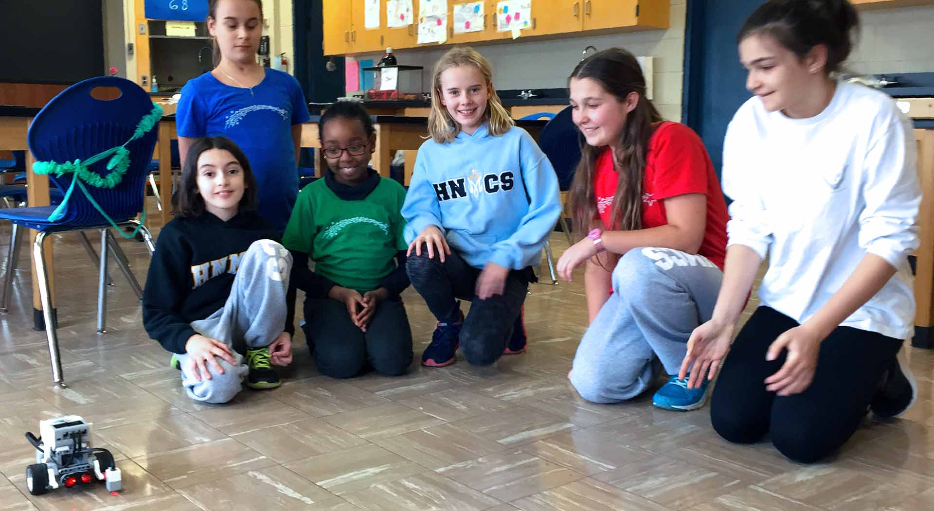 Promoting STEM, Reaping Awards April 2018 – Holy Name of